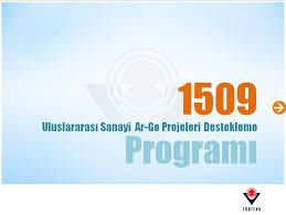 1509 Uluslararası Sanayi Ar-Ge